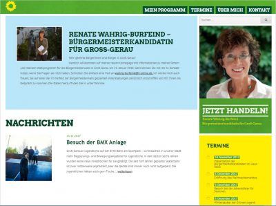 Website Renate Wahrig-Burfeind