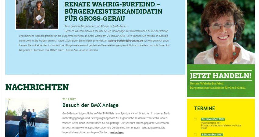 Website Renate Wahrig-Burfeind
