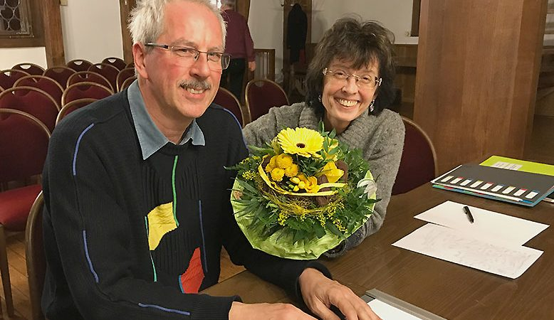 Renate Wahrig-Burfeind und Thomas Krambeer